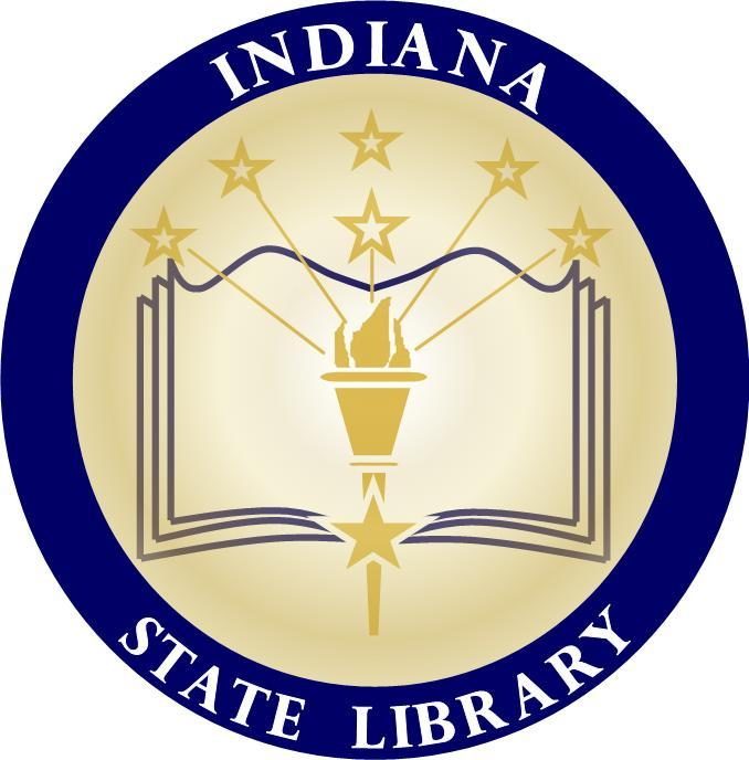 Indiana State Library logo (opens in new window)
